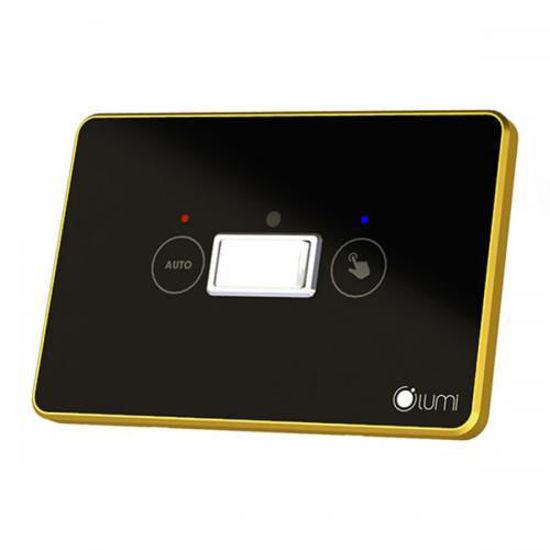 Luxury - công tắc cảm biến cầu thang viền mạ vàng (kết nối zigbee)