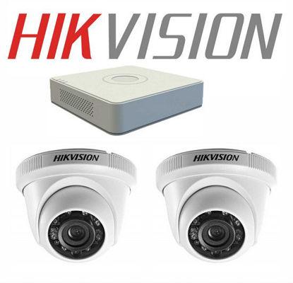 Bộ 2 Camera Hikvision trong nhà 1Mp